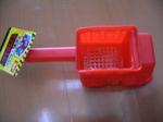 100均 オタク ダンプ砂ふるい・フォークリフト おもちゃ